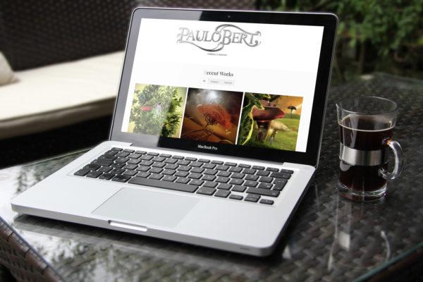 Paulo Bert Digital Artist - Site Institucional